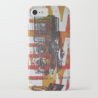cameras iPhone & iPod Cases featuring Cameras by Print Mafia