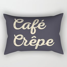 Café Crêpe / Coffee Crepe Rectangular Pillow