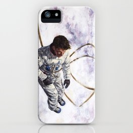 Hovering, Floating in Circles iPhone Case