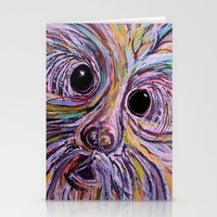 schnauzer Stationery Cards featuring Schnauzer by EloiseArt