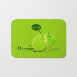Lime Bath Mat