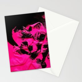 Happy Chaos (Pink) Stationery Cards