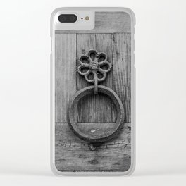 door knockers Clear iPhone Case