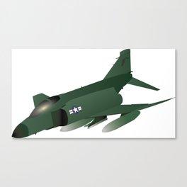 F-4 Phantom Jet Interceptor Canvas Print