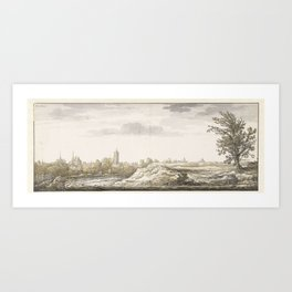 Gezicht op Arnhem, Aelbert Cuyp, 1630 - before 1651 Art Print