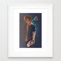 artsy Framed Art Prints featuring Artsy Harry by Laia™