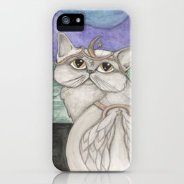 Angel Cat iPhone Case