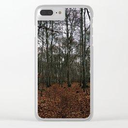 Dark Woods Clear iPhone Case