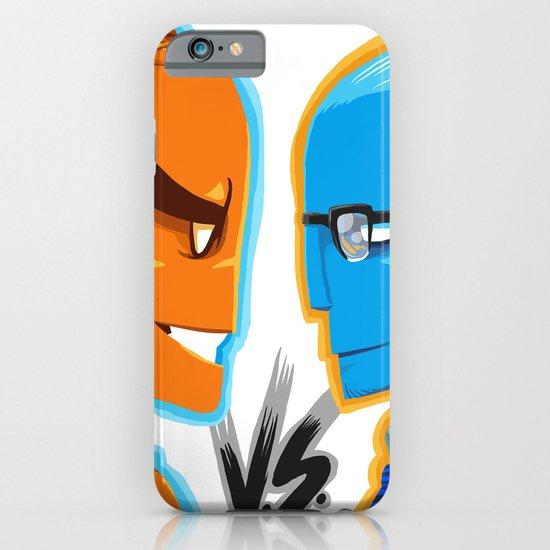 BLUE VS ORANGE iPhone & iPod Case