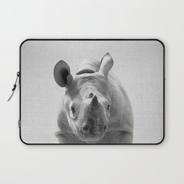 Baby Rhino - Black & White Laptop Sleeve