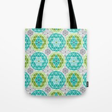 Geodome - Green Tote Bag