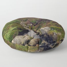 Wicklow Mountains, Republic of Ireland Floor Pillow