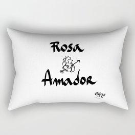 Rosa Amador Rectangular Pillow