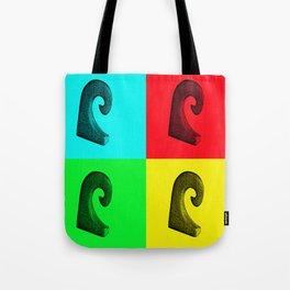 Pop Art Wave Tote Bag