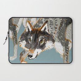Totem Dark European Wolf Laptop Sleeve