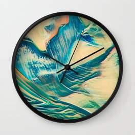 Sandy Waves Wall Clock