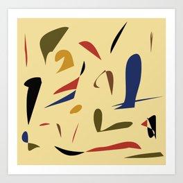 A little abstract Art Print