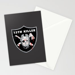 13th Killer Stationery Cards