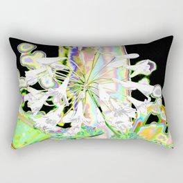 WHITE AGAPANTHUS Rectangular Pillow