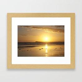 Sunset over Barwon Heads Framed Art Print