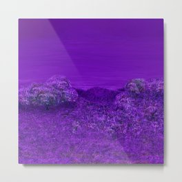 A Perpetual Lavender Twilight Metal Print