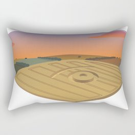 signs on the field Rectangular Pillow