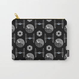 Empire ships pattern, death, star, dark side, movies, 80s Carry-All Pouch