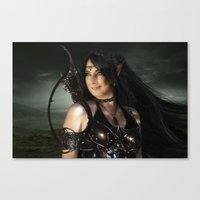 elf Canvas Prints featuring ELF by BabsArtCreations