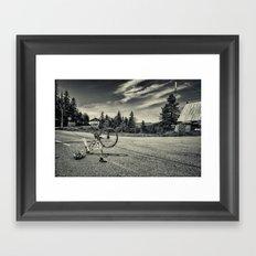Misadventures Re-edit Framed Art Print