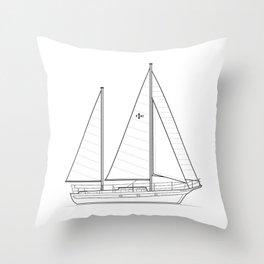 Islander Freeport 41 Throw Pillow