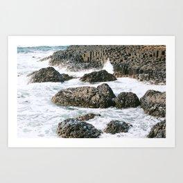 Rocky Shore Art Print