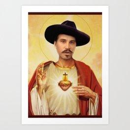 Saint Doc Art Print