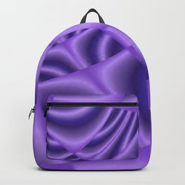 Purple Satin Backpack