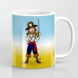 Pirate Girl Coffee Mug