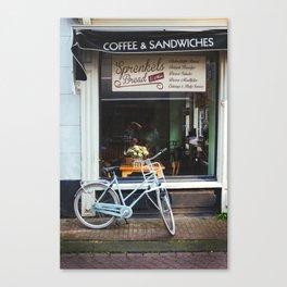 Bakery Window Canvas Print