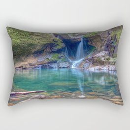Devil's Punchbowl Falls Trailhead Angwin California Untied States Ultra HD Rectangular Pillow