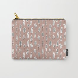 Flora | Blush Carry-All Pouch