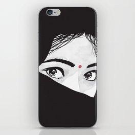 Indian girl iPhone Skin