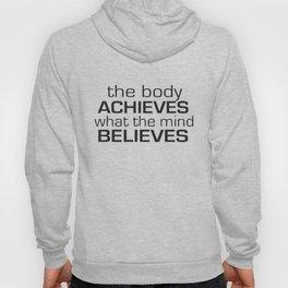 Women Body Achieves Believes Gym Crossfit Running Training Yoga T-Shirts Hoody