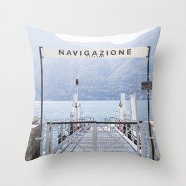 Navigazione Throw Pillow