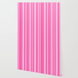Pink Candy Stripe Wallpaper