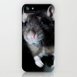 Oeps... the can see me! iPhone Case