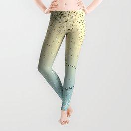 Sparkling Lemon Twist Beach Glitter Heart #1 #shiny #decor #art #society6 Leggings
