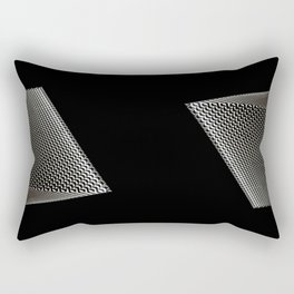 Light and Darkness with Architrcture Rectangular Pillow