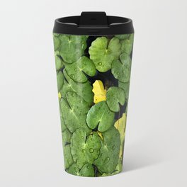Frog on the Lily Pads Travel Mug
