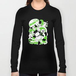 Desu~!!: Green Long Sleeve T-shirt