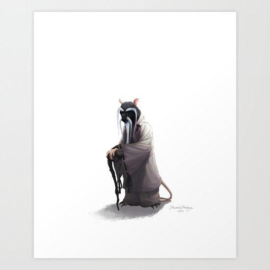 Splinter Art Print