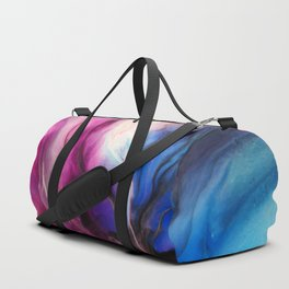 Sky Walker - Original Abstract Painting Duffle Bag