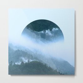 It's Raining Zen Metal Print
