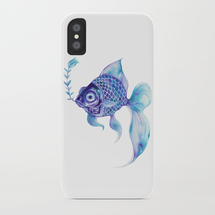 Baby Blue #5 iPhone Case